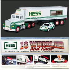 1991 Hess 18 Wheeler Truck And Racer NEW In Box ~ Toy NRFB | EBay Amazoncom Hess 1990 Colctable Toy Tanker Truck Toys Games 2003 Commercial Youtube Hess 2001 Mini Race Car Transport Truck 4th Issue By Mobile Museum The Michael Alan Group Toys Values And Descriptions 2009 Chrome Mini Space Shuttler Very Rare Special Edition 2017 Dump With Loader Trucks The Year Guide 19982017 Complete Et Collection Of Miniatures Trucks 20 2016 And Dragster 1999 Minature Fire