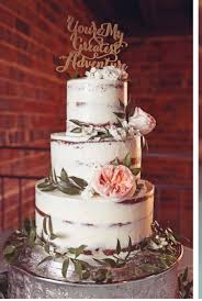 Naked Birch 3Tier Wedding Cake On Central