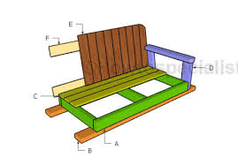glider bench plans howtospecialist how to build step by step
