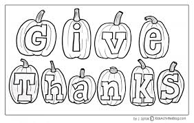 Give Thanks Coloring Page From Kids Activities Blog Screenshot 2015 11 164222