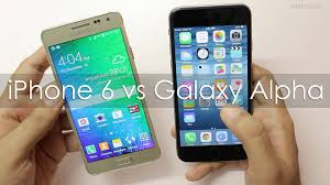 iPhone 6 vs Samsung Galaxy Alpha Which is better for You