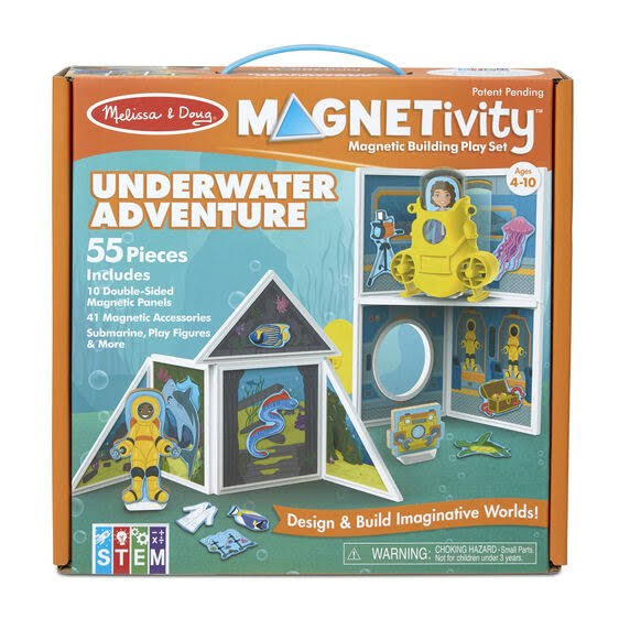 Melissa & Doug Magnetivity - Underwater Adventure Set