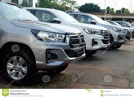 100 New Compact Trucks Bangkok Thailand May 13 2018 Row Of Pickup For Sale