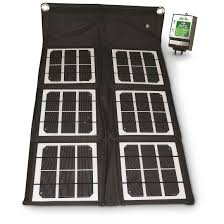 World Market Abbott Sofa Dolphin by Nature Power 18w Folding Solar Panel With 8a Charge Controller