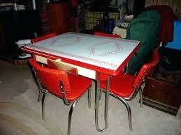Metal Kitchen Table Vintage Tables Retro Dinette Sets