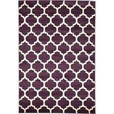 4 X 6 Purple Area Rugs The Home Depot Rug Trellis Ruger 10 22