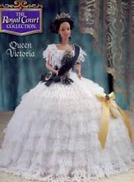 Queen Victoria Outfit For Barbie Doll Annies Attic Royal Court