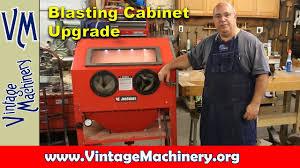 blasting cabinet upgrade from tacoma company youtube