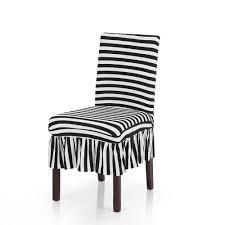 Pleated Black White Stripes Ruffled Stretch Removable Washable ... Amazoncom Shzons Ding Room Chair Covers Trade Stretch Stripe Bedroom Outstanding Oversized Ottoman Slipcover Create Your Home Slipcover 100 Linen Handcrafted By Superiorcustlinenscom Essential Twill Long With Scotchgard Surefit Decor Best For Parson Chairs Awesome Traditional Wing Back In Washed Linenlocal Etsy Lamour Universal Self Tie Cover White At Cv Linens Detail Feedback Questions About Solid Color Spandex Folding At Cv Classical Sure Fit Ruffle Shop Cotton Tiered Ruffled Free Shipping On Elastic Cloth Washable