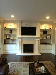 bookcase 20 cozy corner fireplace ideas for your living room