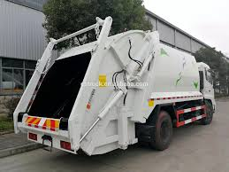 100 Waste Management Garbage Truck Dongfeng Trash S Mobile 12m3 To 15m3