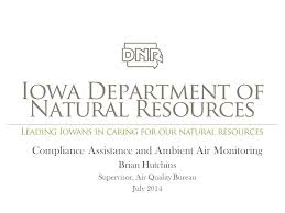 bureau air compliance assistance and ambient air monitoring brian hutchins