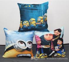 24 X 24 Patio Cushion Covers by Despicable Me Minions Gru Cushion Cover Pillow Case Home Sofa