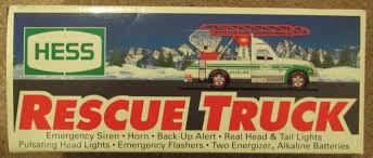 1994 Hess Toy Truck Rescue Truck Collectible New In Box Nib ... Gas Oil Advertising Colctibles Amazoncom 1995 Hess Toy Truck And Helicopter Toys Games 2000 2002 2003 Hess Trucks Truck Racecars Rescure 1993 Texaco Ertl Bank Texaco Trucks Wings Of Mini 1994 Rescue Video Review Youtube Space Shuttle Sallite 1999 Christmas Tv New Seasonal Partner Inventory Hobby Whosale Distributors 2017 Truck