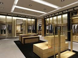GM060 Modern Attractive Retail Men Clothes Racks Clothing Shelves