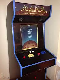 Mame Cabinet Plans 4 Player by Slim Mame Cabinet Plans Memsaheb Net