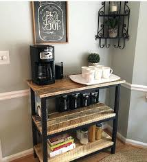 Coffee Bar Table Ideas Kitchen Small