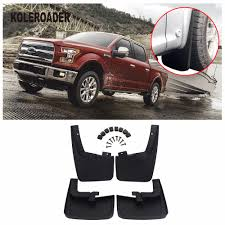 Front & Rear Molded Splash Guards Mud Flaps For Ford F150 2015 2017 ... Front Rear Molded Splash Guards Mud Flaps For Ford F150 2015 2017 Husky Liners Kiback Lifted Trucks 2000 Excursion Lost Photo Image Gallery 72019 F350 Gatorback Flap Set Vehicle Accsories Motune Rally Armor Blue Focus St Rs Rockstar Hitch Mounted Best Fit Truck Buy 042014 Flare Rear 21x24 Ford Logo Dually New Free Shipping 52017 Flares 4 Piece Guard For Ranger T6 Px Mk1 Mk2 2011 Duraflap Fits 4door 4wd Ute