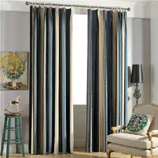 Blue Vertical Striped Curtains by Discount Curtains Window Treatments U0026 Drapes Online Store