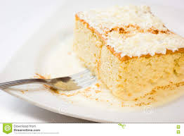 kuchen der milch drei stockbild bild sahnig