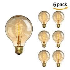 kingso vintage edison bulb 60w incandescent antique light bulb