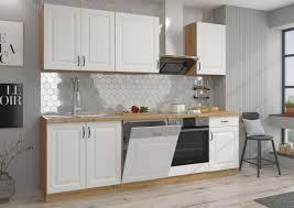 küche stilo weiß eiche artisan 250 cm kaufland de