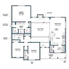 Tilson Homes Marquis Floor Plan by Floor Plan Of The Second Floor Of The Hillsboro By Tilson Homes