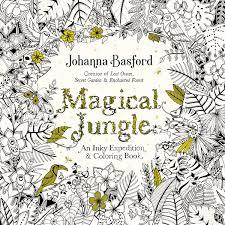COLORING BOOK MAGICAL JUNGLE BY Johanna Basford