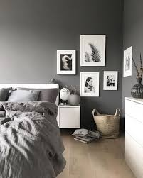 20 Black White And Grey BedroomBlack