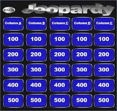 Jeopardy Template With Sound Effects For Powerpoint Urbanized