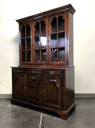 China Cabinet Hutch Built In Dining Room Sold Out Oxford Antique Cherry