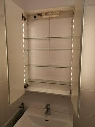 badezimmer spiegelschrank storjorm 60x14x96cm
