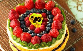 bohnen früchte torte
