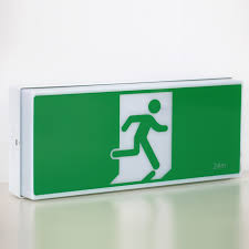 china wall mounted exit sign manufacturers saa exit light factory