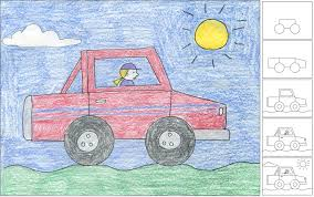 How To Draw A Truck ~ Art ProjectsArt Projects For Kid How To Draw A Pickup Truck Step 1 Cakepinscom Projects Scania Truck By Roxycloud On Deviantart Youtube A Simple Art For Kids Fire For Hub Drawing At Getdrawingscom Free Personal Use To Easy Incredible Learn Cars Coloring Pages Image By With Moving
