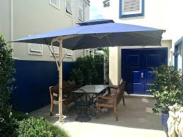 Patio Umbrella With White Pole Blue Umbrellas Great For Deck Garden Navy