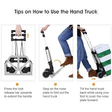 HEAVY DUTY FOLDING FOLDABLE HAND SACK TRUCK BARROW CART WHEEL ... Tttelescopiclwhandtruckxjpg Amazoncom Folding Luggage Carrier Wheeled Cart Trolley Suitcase Platform Hand Truck Carts Harper Trucks Lweight 400 Lb Capacity Nylon Convertible Cknroller Multicart Rmh1 Minihandtruck 10 Best Alinum With Reviews 2017 Research Core Boson 110 Lbs For Transport Product Focus Youtube 600 Loop Handle Truckbktak19 The Home Sydney Trolleys At99dl Shop Dollies At Lowescom