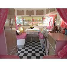Flamingo Pink Vintage Caravan Courtesy Of Mag