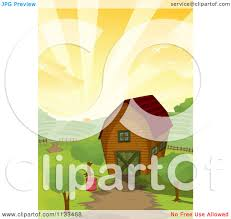 Cartoon Of A Farm Barn At Sunrise - Royalty Free Vector Clipart By ... Farm Animals Living In The Barnhouse Royalty Free Cliparts Stock Horse Designs Classy 60 Red Barn Silhouette Clip Art Inspiration Design Of Cute Clipart Instant Download File Digital With Clipart Suggestions For Barn On Bnyard Vector Farm Library