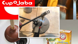 Best Method To Unclog Kitchen Sink by Easiest Way To Unclog A Kitchen Sink Plunger Baking Soda