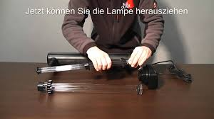Uvc Lampe 9 Watt by Aquaking Koi Discount Uvc 55 Watt Youtube