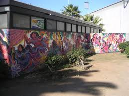 Chicano Park Murals Map by Coatlicue Painting In Chicano Park