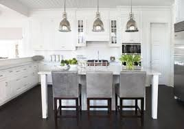 rustic kitchen island lighting stainless faucet wall tiles