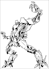 Transformers Coloring Page 14