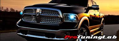dodge ram truck halo led projector headlights