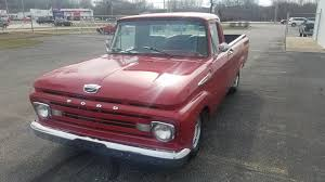 100 Ford Unibody Truck For Sale 1961 F100 Custom Cab For Sale 73275 MCG