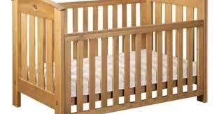 boori country collection classic crib in heritage teak c k