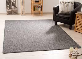 steffensmeier teppich meddon xl robuste schlinge für esszimmer küche flur hobbyraum büro in anthrazit gut siegel größe 80x150 cm