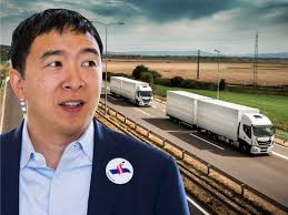 100 Southwest Truck Driving School Andrew Yang Vows To Save Truck Drivers From Automation