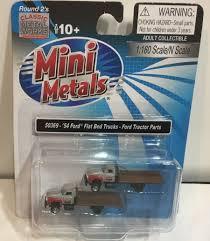 100 N Scale Trucks Classic Metal Works Mwi50369 1954 Ford Flatbed Truck Redgray 2